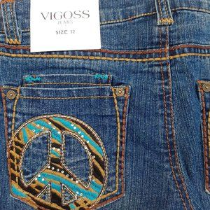 Vigoss Jeans - VIGOSS Jeans For Girl - Size 12